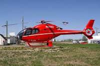 C-GLWH @ YXJ - Whitney Helicopters EC-120B Colibri