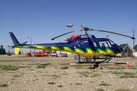 C-FLME @ YXJ - Whitney Helicopters Aerospatiale AS-350 B2 Ecureuil