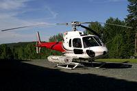 C-GPWZ @ CBG8 - Pacific Western Helicopters Aerospatiale AS-350 B2 Ecureuil
