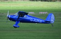 G-AJKB @ EGCB - At City Airport Manchester - by Guitarist-2