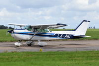 LX-AID @ EGSH - Just landed at Norwich. - by Graham Reeve