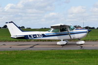 LX-AID @ EGSH - Departing from Norwich. - by Graham Reeve