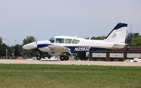 N2593Z @ KOSH - Piper PA-23-250