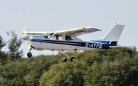 G-AYPG @ EGFH - Visiting Cessna Cardinal RG departing Runway 22.