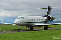 M-YGIG @ EGPN - Parked on the 'Alpha' Taxiway at Dundee - by Clive Pattle