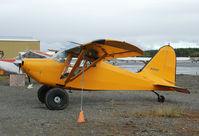 N32207 @ SXQ - Stinson 10 at Soldotna airport AK