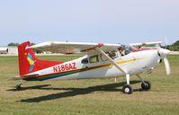 N186AZ @ KOSH - Cessna A185F