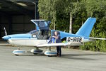 G-IROB @ EGCW - At Mid-Wales Airport , Welshpool
