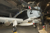 52-132649 @ KFFO - On display at the National Museum of the U.S. Air Force.  This Skyraider of 1st Air Commando Squadron was flown by Maj. Bernard F. Fisher when he rescued a fellow pilot shot down at A Shau Valley on March 10, 1966 by landing his Spad under fire.