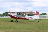 C-FYFJ @ KOSH - Cessna A185F