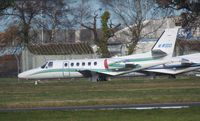 M-WOOD @ EGHH - Parked at Bournemouth airport EGHH - by Marc Mansbridge