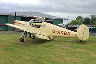 G-AKBO @ EGBO - Project Propeller Day. - by Paul Massey