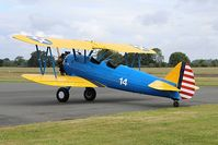 G-ISDN @ EGBO - Project Propeller Day. Painted in U.S.A.A.C. code 14.Ex:-N4197X,XB-WOV. - by Paul Massey
