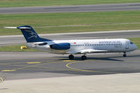 4O-AOM @ VIE - Montenegro Airlines Fokker 100 - by Thomas Ramgraber