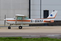 G-BNMF @ EGSH - Just landed at Norwich. - by Graham Reeve