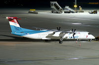 LX-LQA @ VIE - Luxair DHC 8-400 - by Thomas Ramgraber