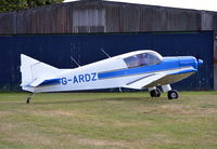 G-ARDZ @ EGLM - Jodel D-140A Mousquetaire at White Waltham.