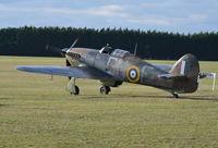 LF363 @ EGLM - Hawker Hurricane IIC of the Battle of Britain Memorial Flight at White Waltham.
