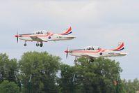 063 @ LFSI - Pilatus PC-9M, Croatian Air Force aerobatic team, Take off rwy 29, St Dizier-Robinson Air Base 113 (LFSI) Open day 2017 - by Yves-Q