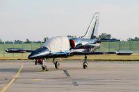 LX-MIK @ LFSI - Aero L-39C Albatros, Sparflex french team, Flight line, St Dizier-Robinson Air Base 113 (LFSI) Open day 2017 - by Yves-Q