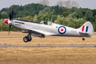 PS915 @ EGVA - Supermarine Spitfire PRXIX PS915 Battle of Britain Memorial Flight RAF, Fairford 14/7/18 - by Grahame Wills