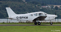 G-BPKM @ EGPN - In action at Dundee - by Clive Pattle