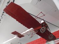 BAPC047 - Off airport. Watkins Monoplane 'Robin Goch' on display at the National Waterfront Museum, Swansea, Wales UK.