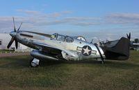 N6555B @ KOSH - North American P-51C