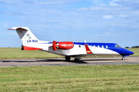 LX-RSQ @ EGSH - Departing from Norwich. - by Graham Reeve