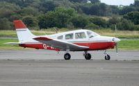 G-WARO @ EGFH - Visiting Warrior III operated by Aeros Flight Training.