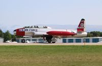 N133KK @ KOSH - Canadair T-33AN - by Mark Pasqualino