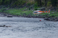 N861H - Fighting Wildfire along the Cleawater River near Kamiah, ID - by vgrafphoto