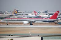 N585NW @ KLAX - Northwest B753 - by FerryPNL