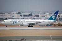 ZK-NCI @ KLAX - ANZ B763 arriving in LAX - by FerryPNL