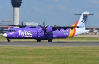 EI-REL @ EGCC - Flybe ATR72 - by FerryPNL