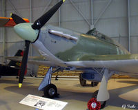 LF738 @ EGWC - Preserved at the RAF Museum, Cosford - by Clive Pattle