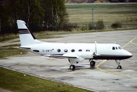 G-AWYF @ EDDK - Grumman Aerospace G-159 Gulfstream I - Ford Motor Company ex. N302K - 0048 - G-AWYF - 04.04.1990 - CGN - by Ralf Winter