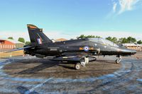 ZK035 @ LFSI - British Aerospace Hawk T2, Static display, St Dizier-Robinson Air Base 113 (LFSI) Open day 2017 - by Yves-Q