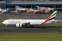 A6-EWD @ VABB - Evening arrival of EK502 from Dubai.