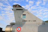 120 @ LFSI - Dassault Mirage 2000 C, Tail close up view, St Dizier-Robinson Air Base 113 (LFSI) Open day 2017 - by Yves-Q