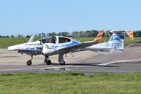 G-COBS @ EGSH - Just landed at Norwich.