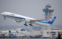 JA778A @ KLAX - Departure of ANA B773 - by FerryPNL