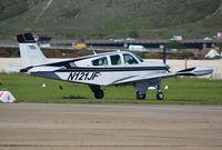 N121JF @ EGKA - Beech F33A Bonanza at Shoreham. - by moxy