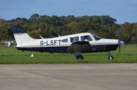 G-LSFT @ EGKA - Piper PA-28-161 Cherokee Warrior II at Shoreham.