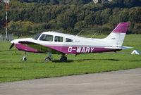 G-WARY @ EGKA - Piper PA-28-161 Cherokee Warrior III at Shoreham. Ex N9287X