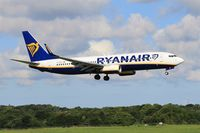 EI-DAI @ LFRB - Boeing 737-8AS, On final rwy 07R, Brest-Bretagne airport (LFRB-BES) - by Yves-Q
