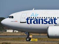 C-GLAT @ LFBD - Air Transat TS517 take ff runway 05 to Montreal - by Jean Christophe Ravon - FRENCHSKY