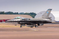 529 @ EGVA - Lockheed Martin F-16C 529 343 Mira Greek AF, Fairford 16/7/18 - by Grahame Wills