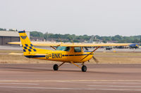 G-BNKI @ EGVA - Cessna 152 G-BNKI RAF Halton Aeroplane Club, Fairford 16/7/18 - by Grahame Wills