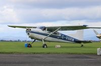 G-RNRM @ EGPT - Cessna A185F